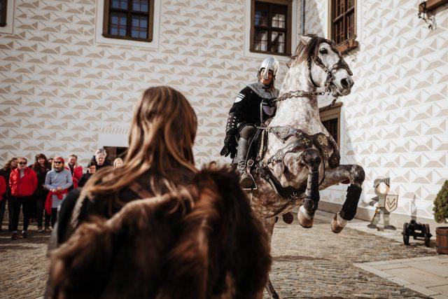 Firemní akce na zámku Valeč