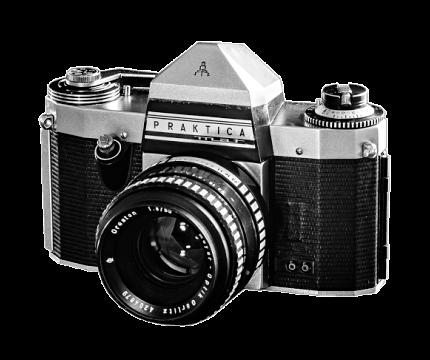 fotoaparát Praktica dědova