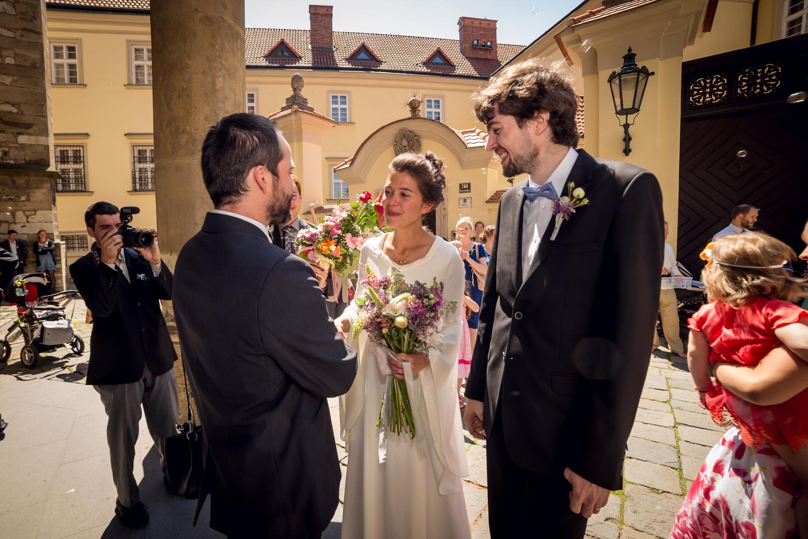 Svatba v Brně - katedrála sv. Petra a Pavla Brno