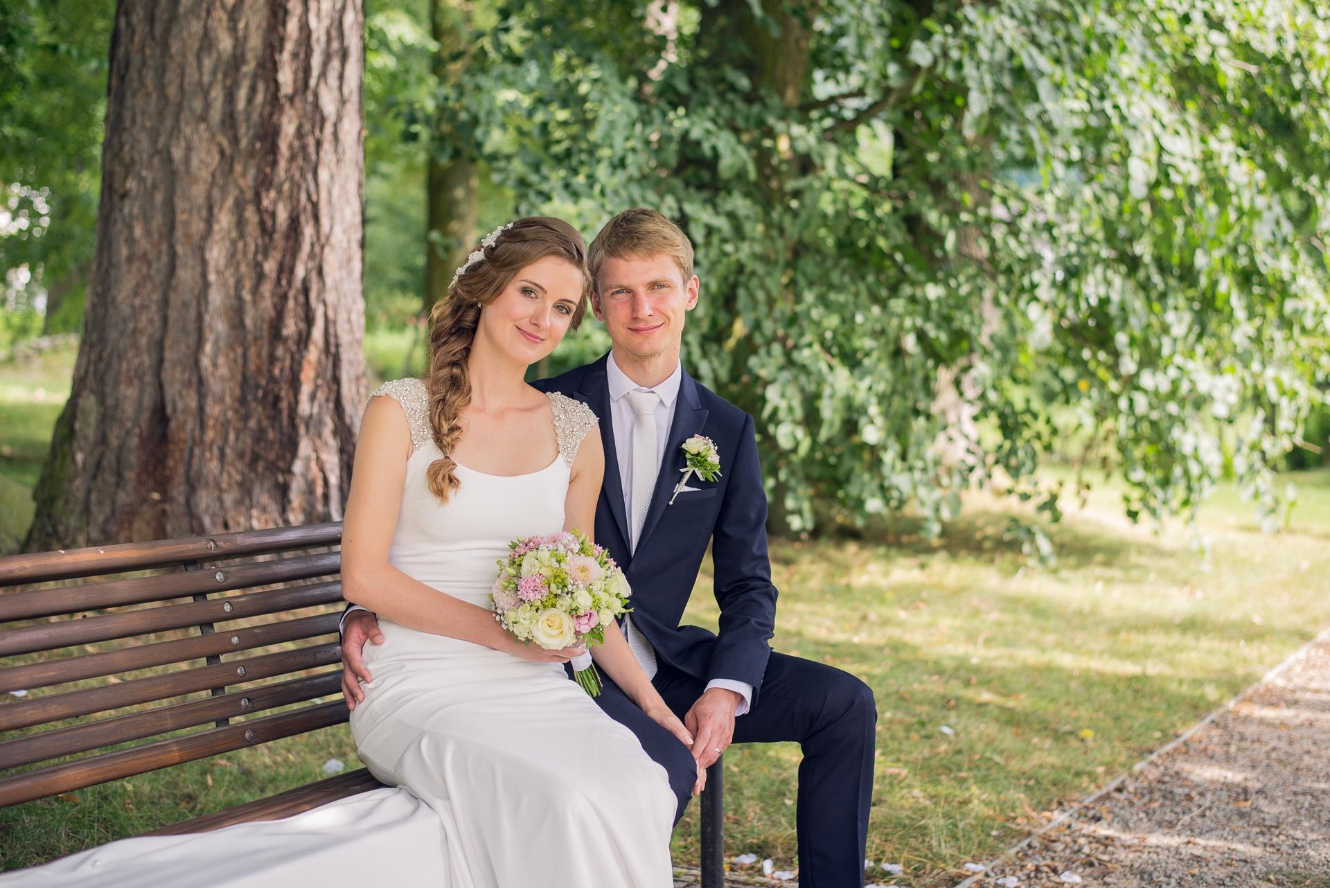 Svatba v zámeckém skleníku