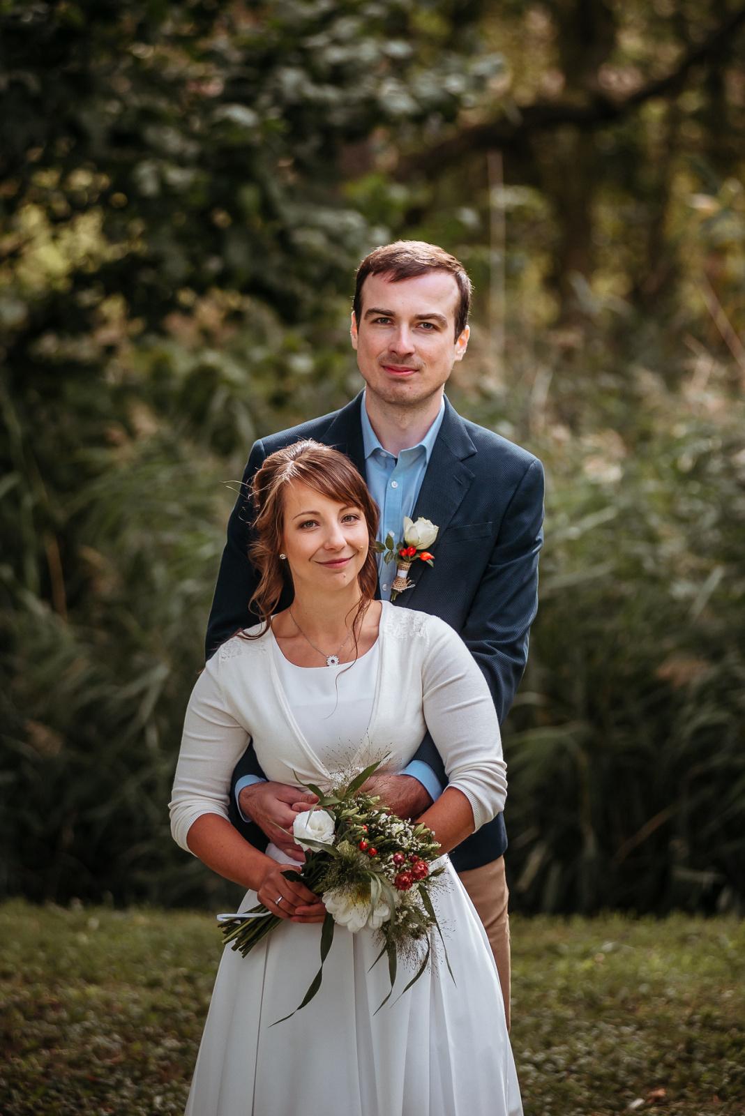 Svatební fotografie Julie a František