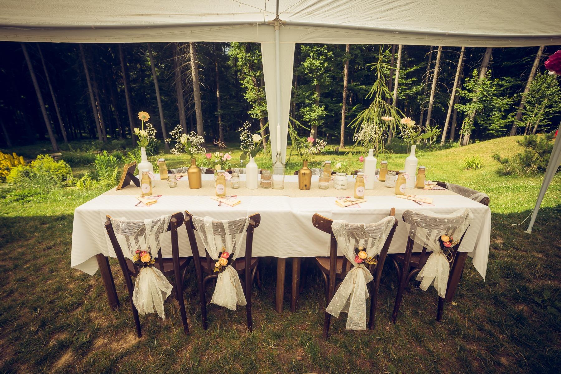 Miška a Radek - svatba jako zahradní slavnost