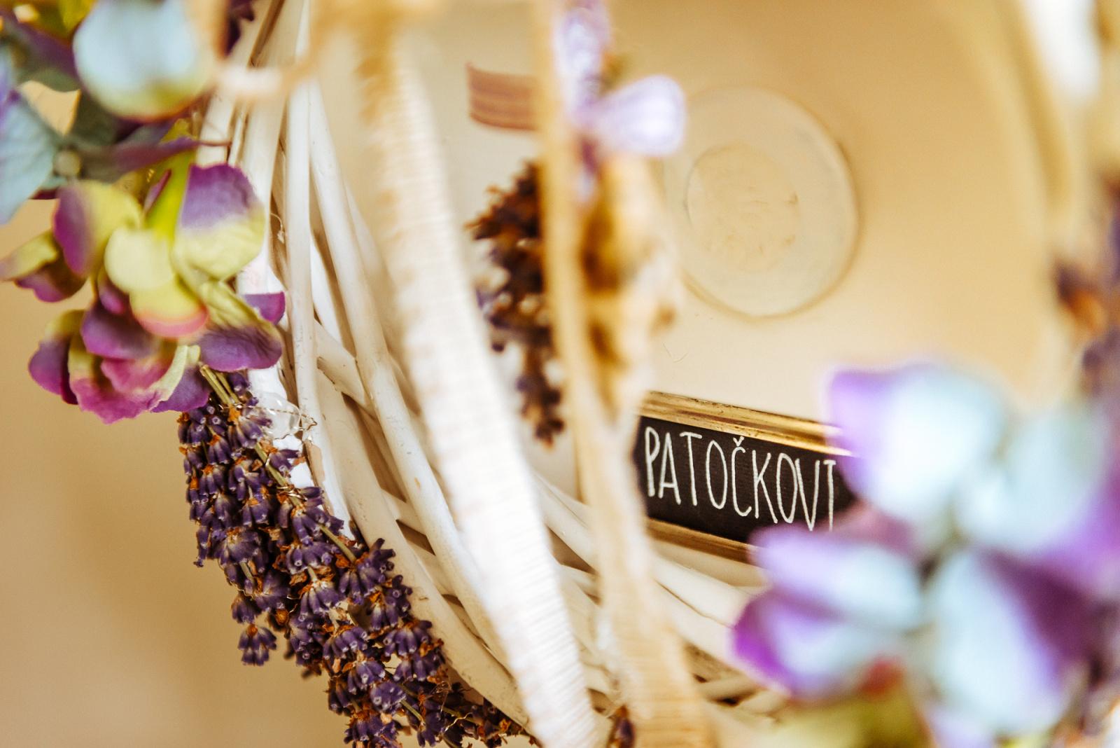 fotografie ze svatby Patočkových