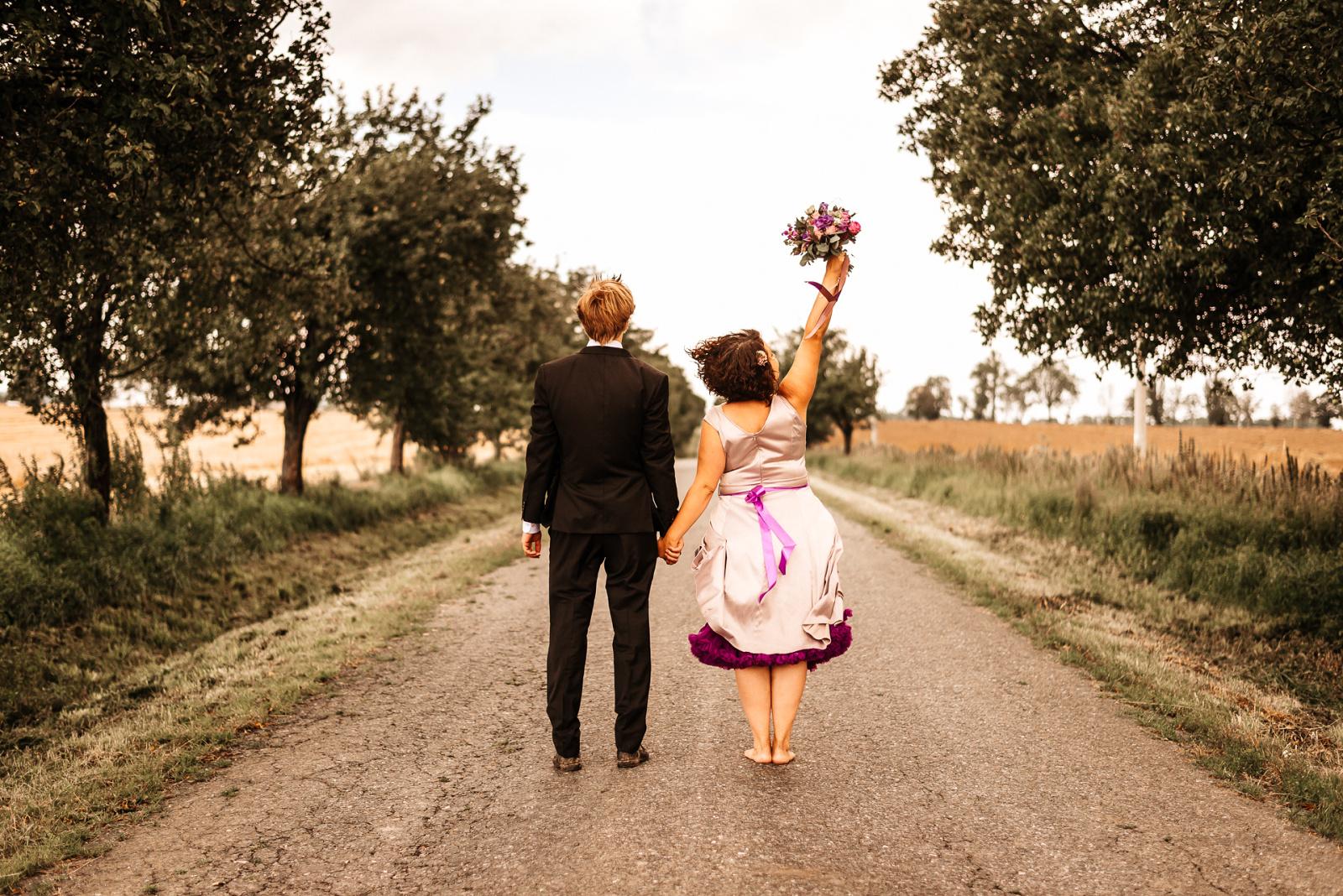 novomanželé vstupují do nové životní éry