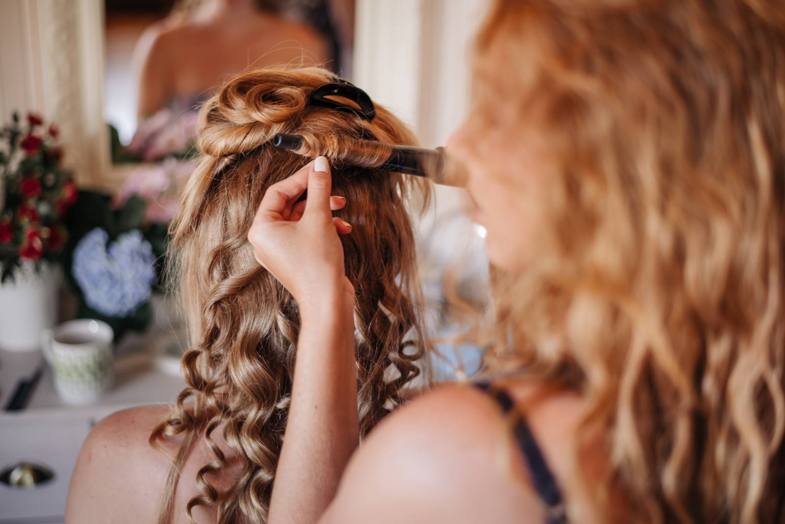 účes pro nevěstu