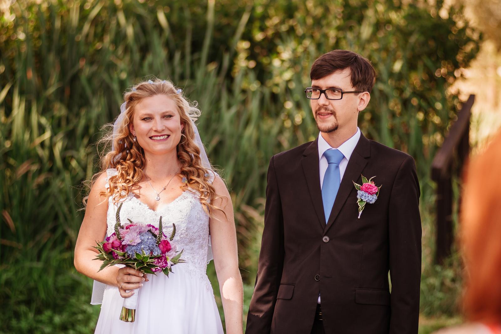 svatební fotografie Mariana a Josef