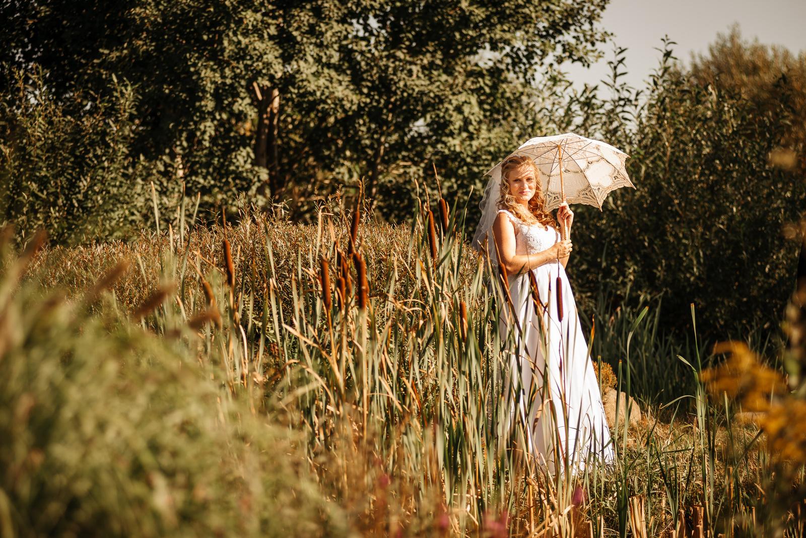 fotografie nevěsty
