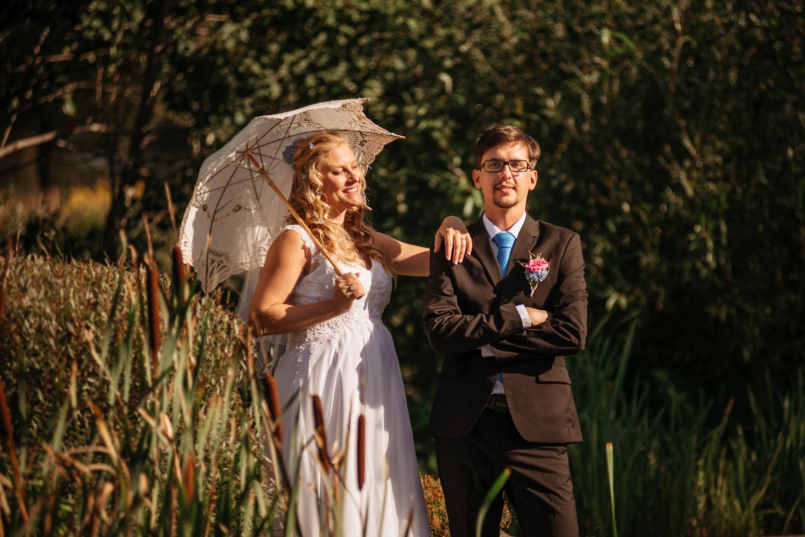novomanželé Mariana a Josef