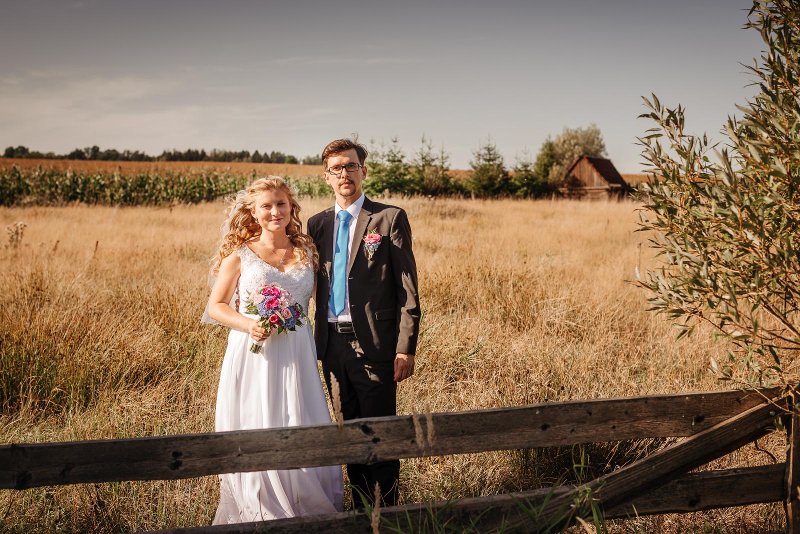 svatební fotografie jako na divokém západě