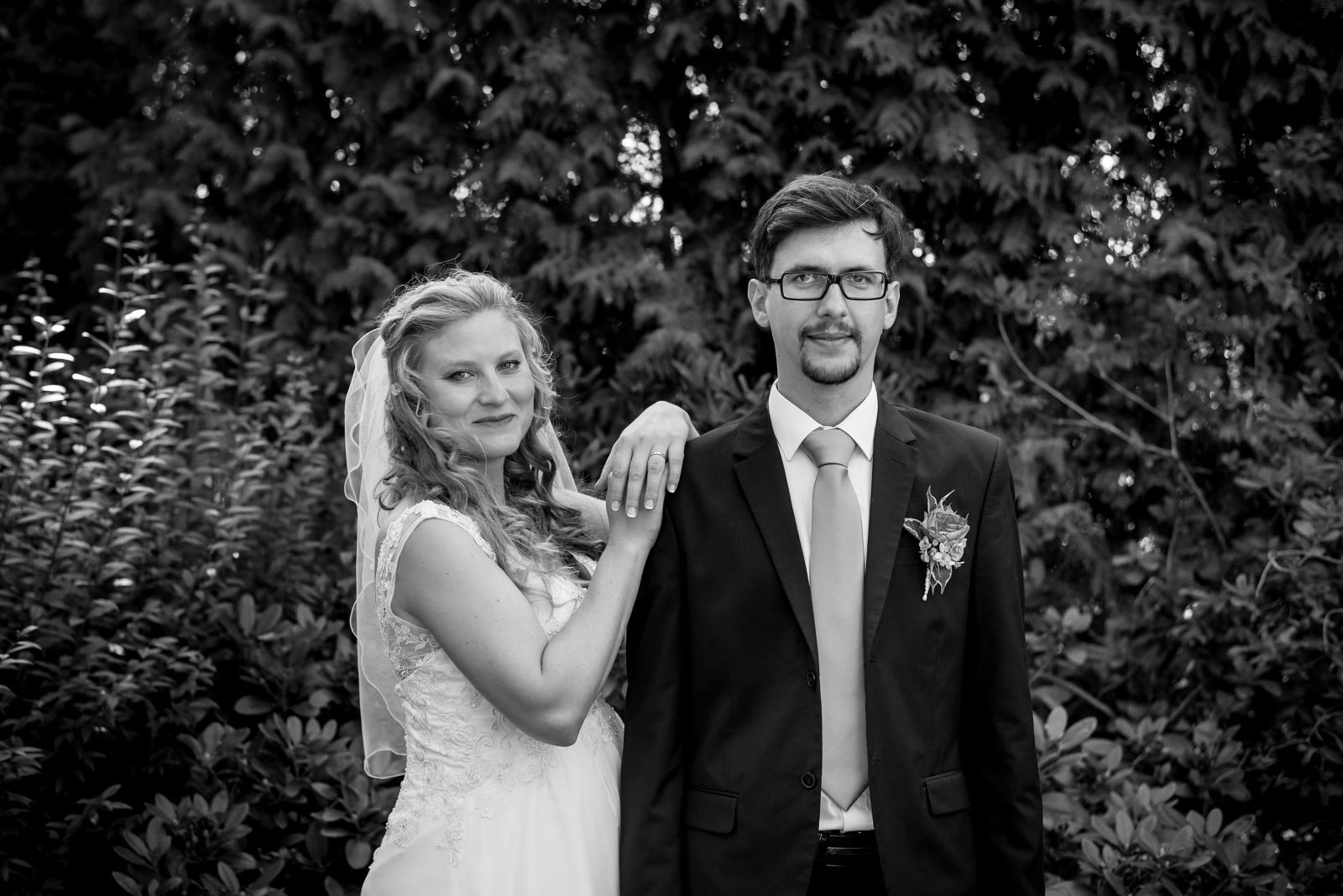Mariana a Josef nevěsta a ženich
